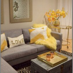 Beige Brown Gold Living Room Ideas