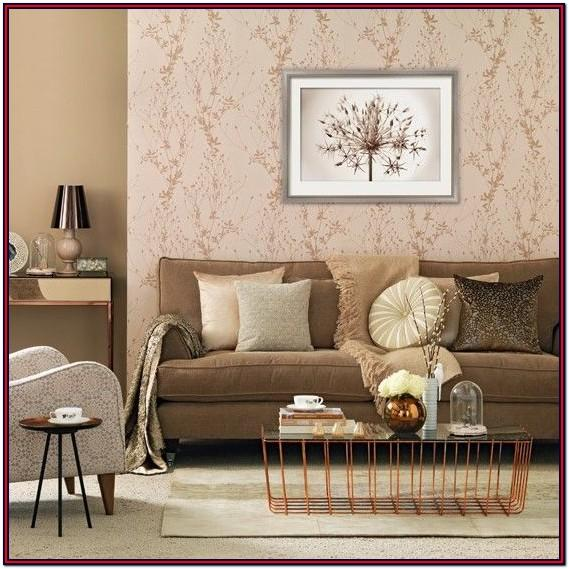 Beige Brown Orange Living Room Ideas