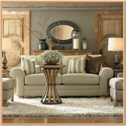 Beige Chocolate Living Room Ideas