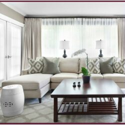 Beige Couch Living Room Ideas With Curtains
