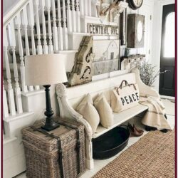 Bench In The Wall Living Room Ideas