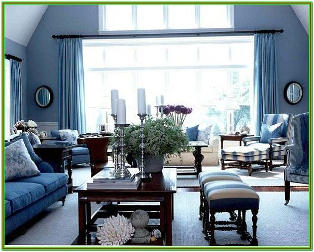 Black And Blue Living Room Ideas