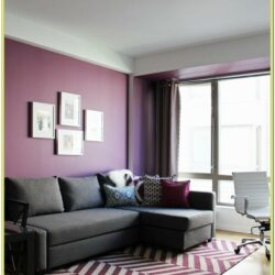 Black White Blue Purple Living Room Ideas