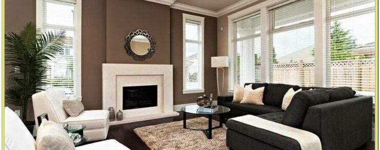 Blue Accent Wall Living Room Colour Ideas