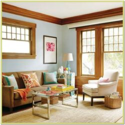 Blue Gray Living Room Paint Ideas