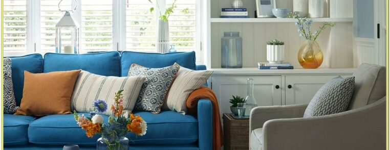 Blue Living Room Ideas Chairs