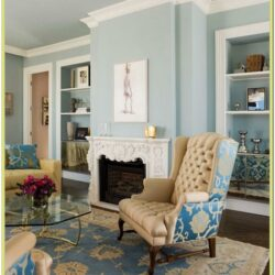 Blue Teal Green Living Room Design Ideas