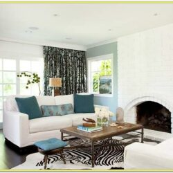 Blue Yellow Living Room Ideas