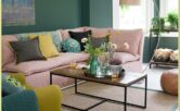 Blush And Lavender Living Room Ideas