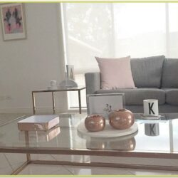 Blush Color Living Room Ideas