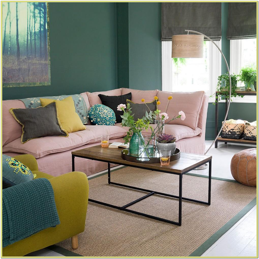 Blush Living Room Ideas