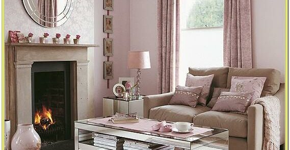 Blush Pink And Grey Living Room Ideas