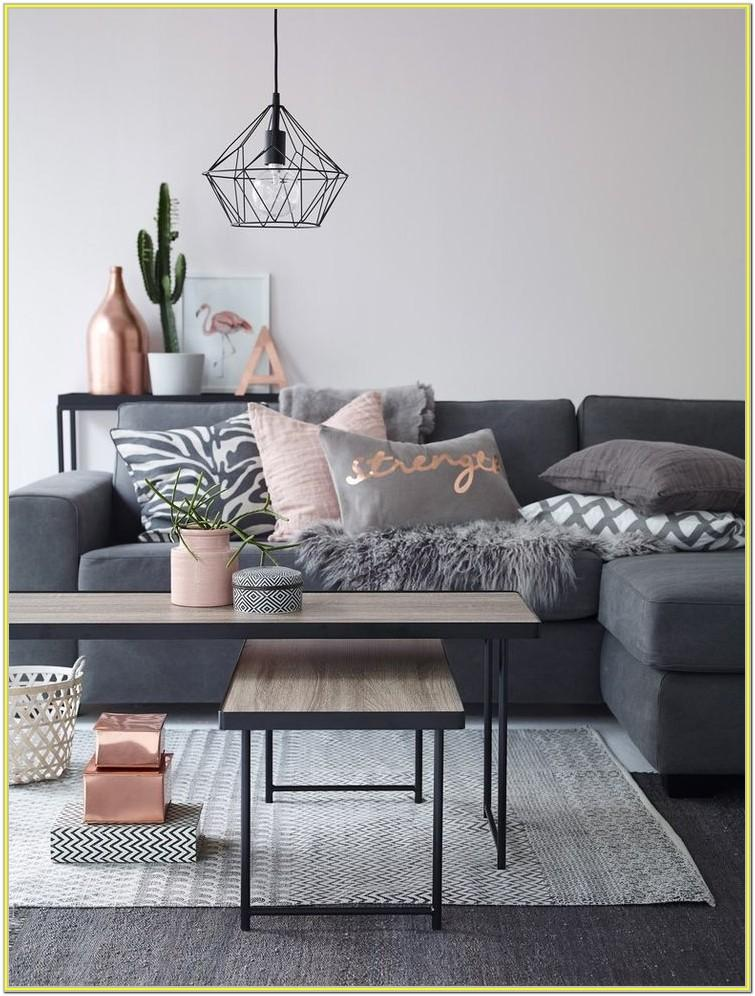 blush pink living room ideas