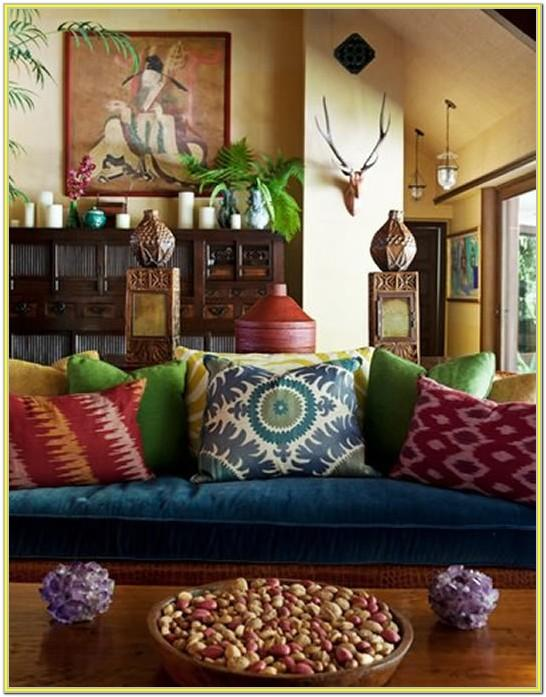 Boho Style Living Room Ideas