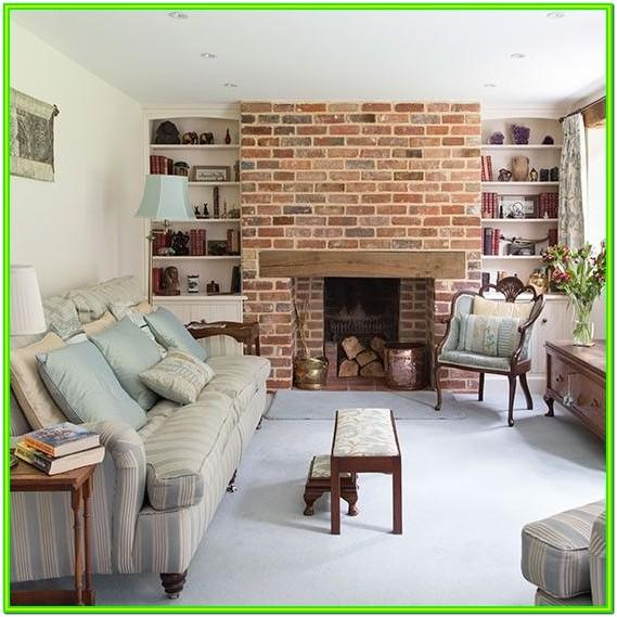 Brick Fireplace Living Room Ideas