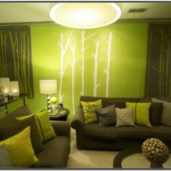 Bright Green Living Room Ideas