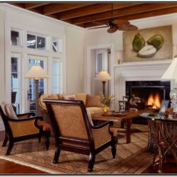 British Colonial Living Room Ideas