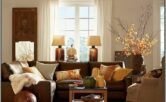 Brown And Gold Living Room Ideas