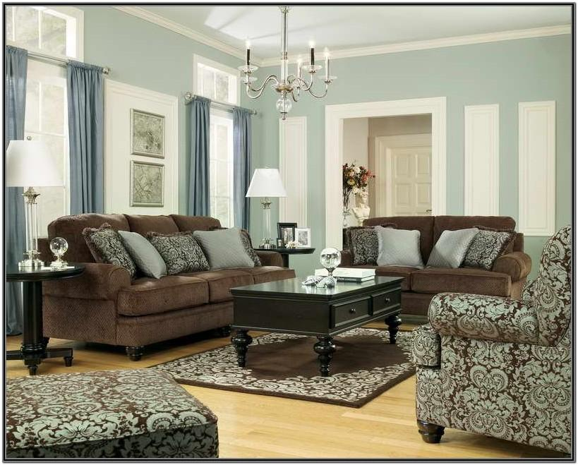 Brown And Light Blue Living Room Ideas