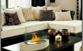Brown And Off White Living Room Ideas
