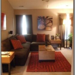 Brown And Orange Living Room Ideas Pinterest