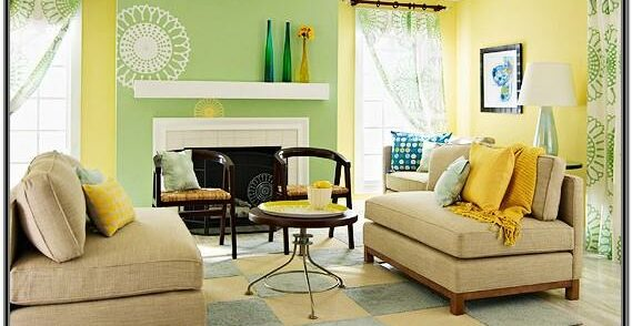 Brown And Yellow Living Room Decorating Ideas