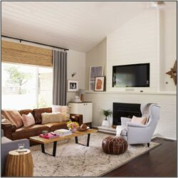 Brown Couch Grey Rug Living Room Ideas