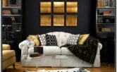 Brown Grey And Gold Living Room Ideas