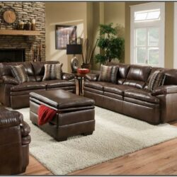 Brown Leather Living Room Set Ideas