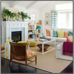 Brownorange Living Room Ideas