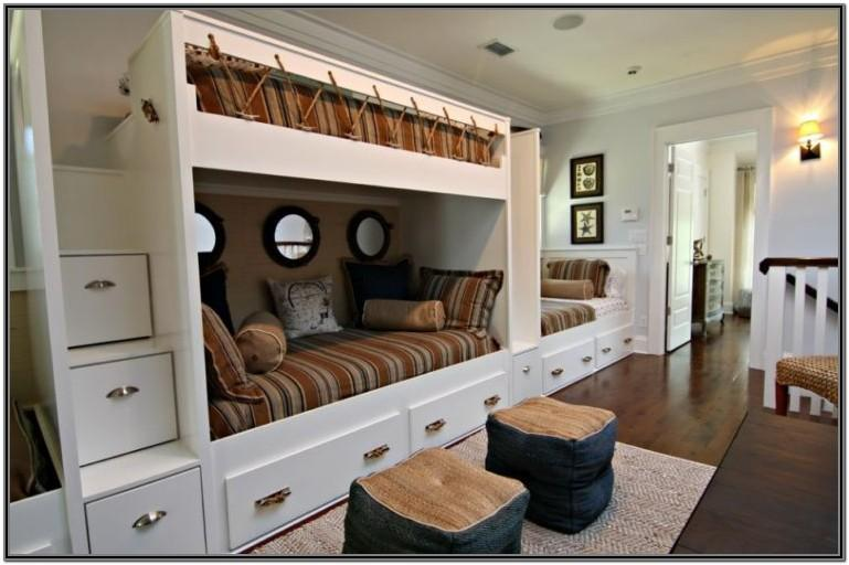 bunkbed in living room ideas