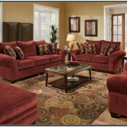 Burgundy And Yellow Living Room Ideas