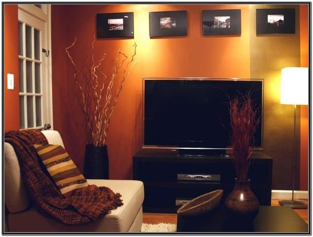 Burnt Orange Brown Orange Living Room Ideas