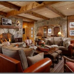 Cabins Living Rooms Ideas