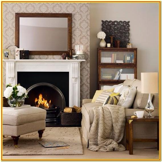 cast iron fireplace living room ideas