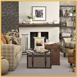 Casual Country Living Room Ideas