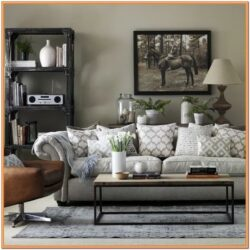 Chic Grey Living Room Ideas