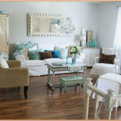 Chic Small Blue Living Room Ideas