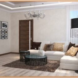 Chocolate And Cream Living Room Ideas