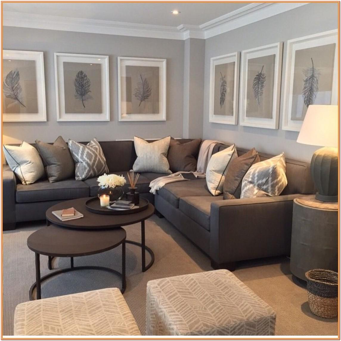 Chocolate Brown Grey And Brown Living Room Ideas