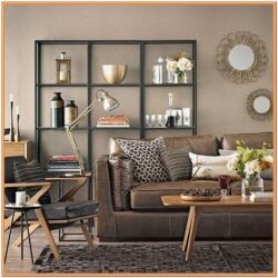 Chocolate Brown Living Room Furniture Ideas