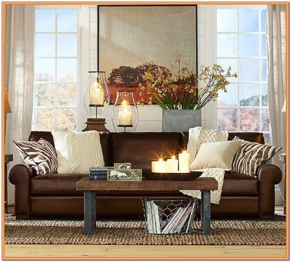 Chocolate Couch Living Room Ideas
