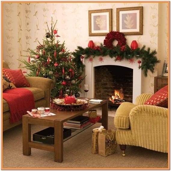 Christmas Lights In Living Room Ideas