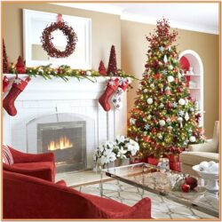 Christmas Living Room Ideas 2018