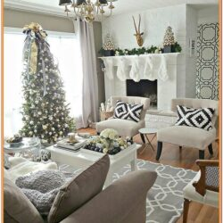Christmas Living Room Ideas Pinterest