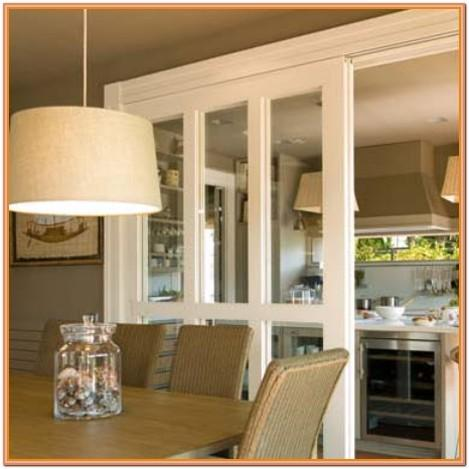 Closed Itchen Living Room Ideas