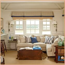 Coastal Cottage Living Room Ideas