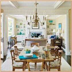 Coastal Living Dining Room Idea
