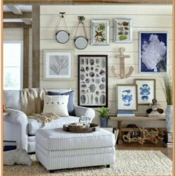 Coastal Living Room Wall Ideas