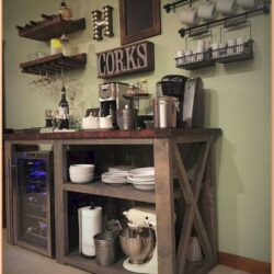 Coffee Station Coffee Corner Ideas In Living Room